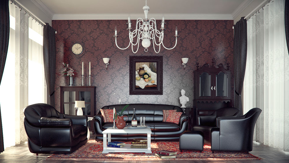 Modern Gothic Interior Design With Its Characteristics