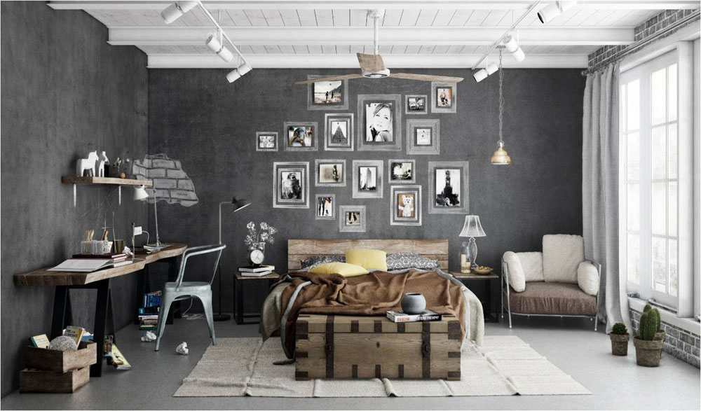 Modern-Industrial-Interior-Design-Definition-And-Ideas-To- & Modern Industrial Interior Design: Definition u0026 Home Decor
