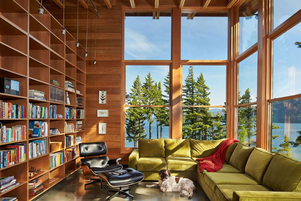 Modern Mountain Home Designed By Johnston Architects 5 Modern