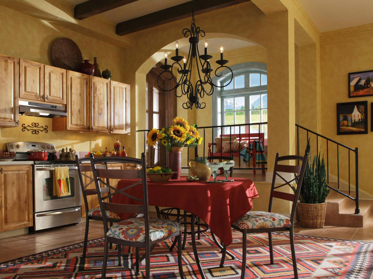 southwestern interior design style and decorating ideas 9 - Southwestern Design Ideas