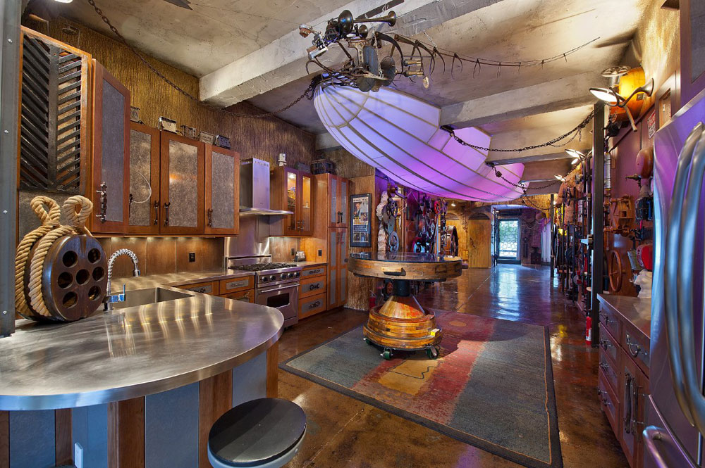 Good Steampunk Home Decorating Ideas Part - 6: Steampunk-Interior-Design-Style-And-Decorating-Ideas-5 Steampunk