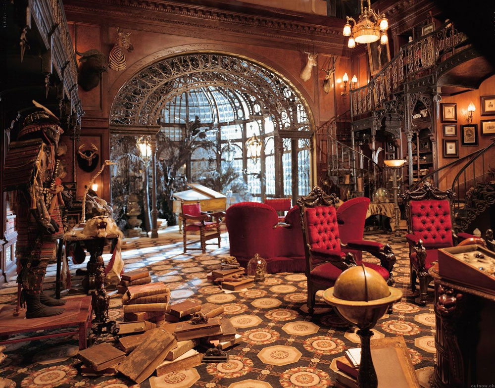Steampunk Interior Design Style And Decorating Ideas