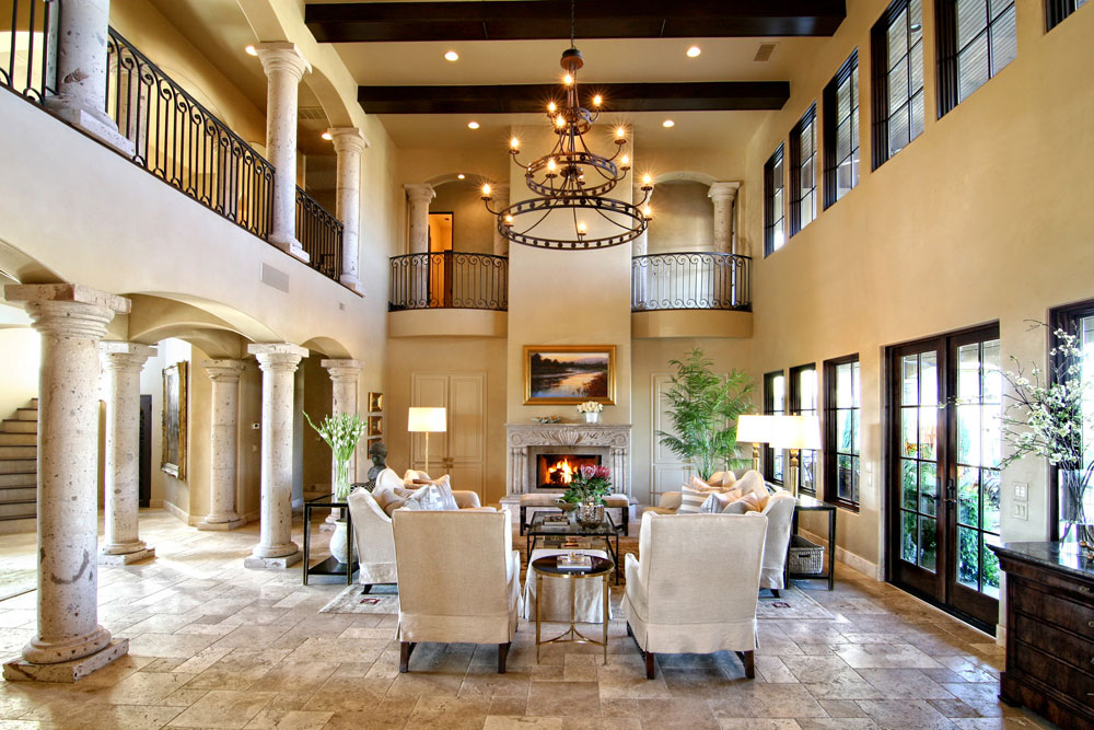 Tuscan interior design ideas style and pictures for Italian villa interior design ideas