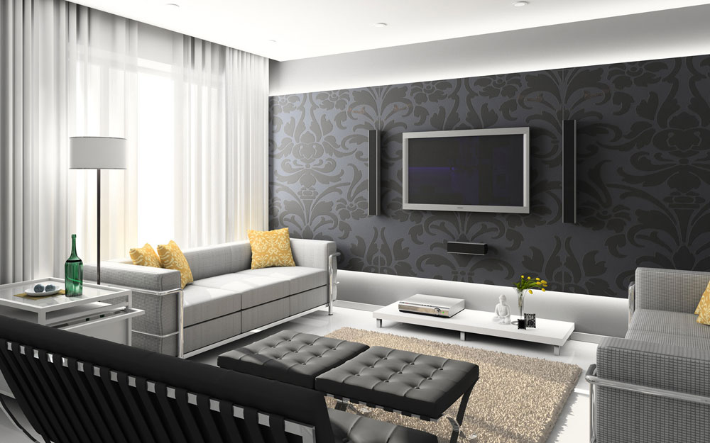 Nice Beautiful Rooms Wallpapers Ideas For Your Home 8 Beautiful