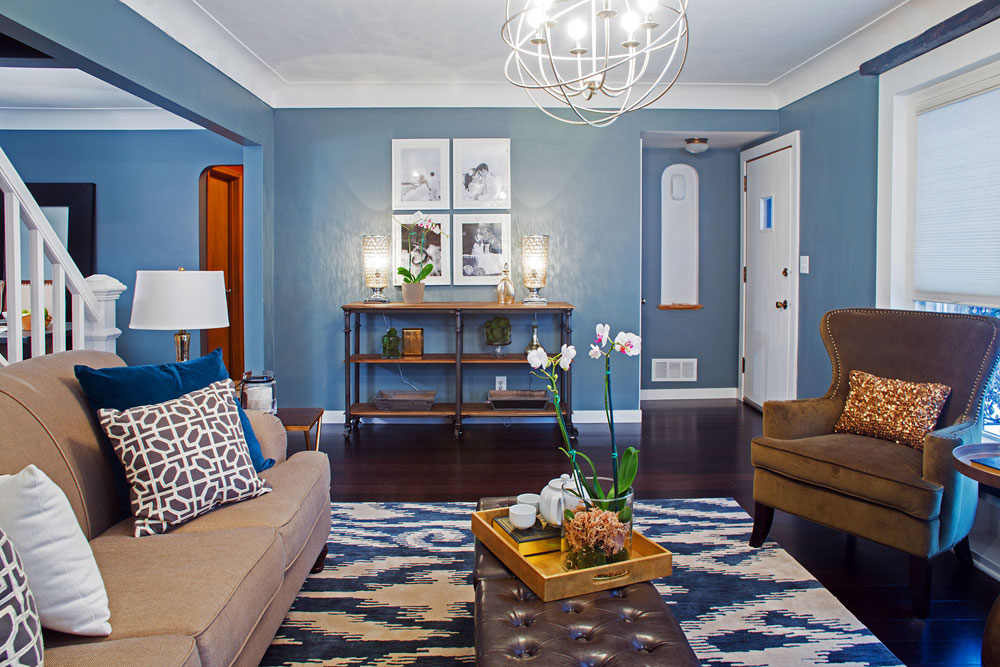 Choosing paint colors for interior