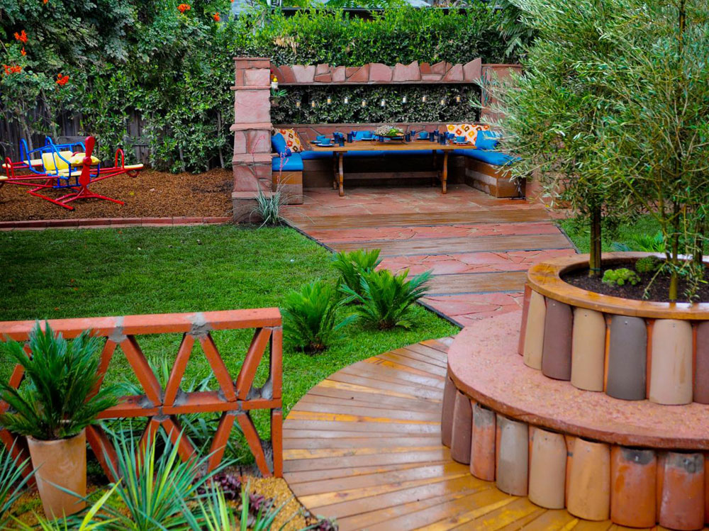 House Walkway And Patio Ideas Illustrated With Pictures