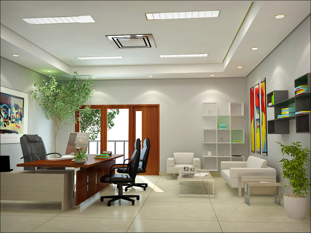 Office interior design inspiration concepts and furniture for Office design concepts and needs