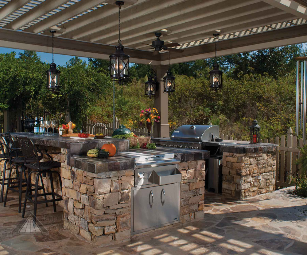 Outdoor Kitchen Ideas That Will Help You Build Your Own (7)