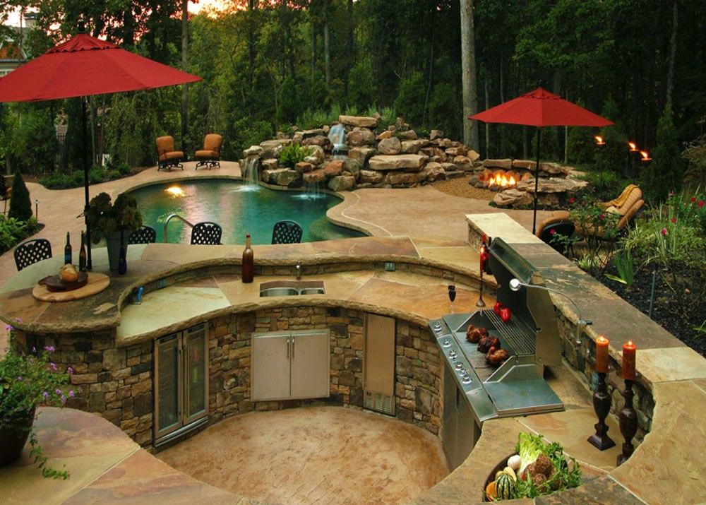 great regarding island pinterest deck your wood build kitchen home own diy backyard extraordinary outdoor plans ideas