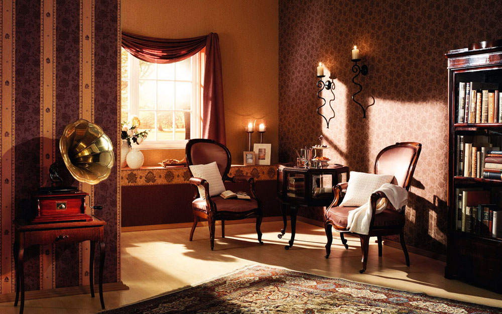 Etonnant The Art Of Designing With Antiques Interior Decorating