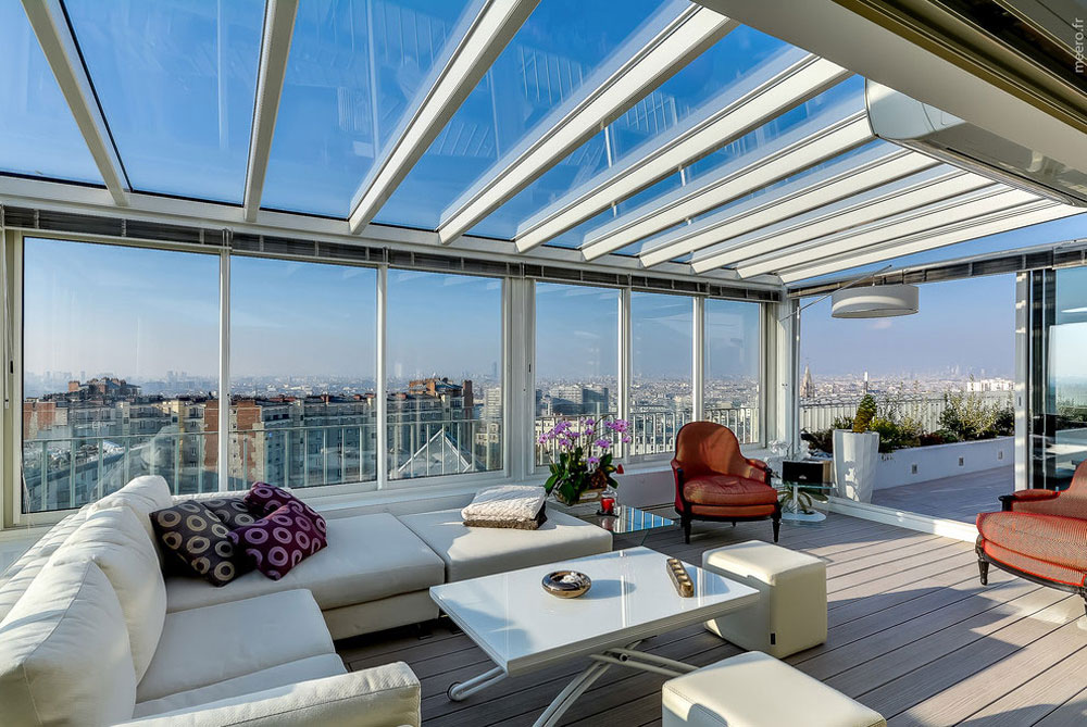 modern penthouse. The Modern Penthouse Paris XX Designed By Manuel  Sequeira Architecture
