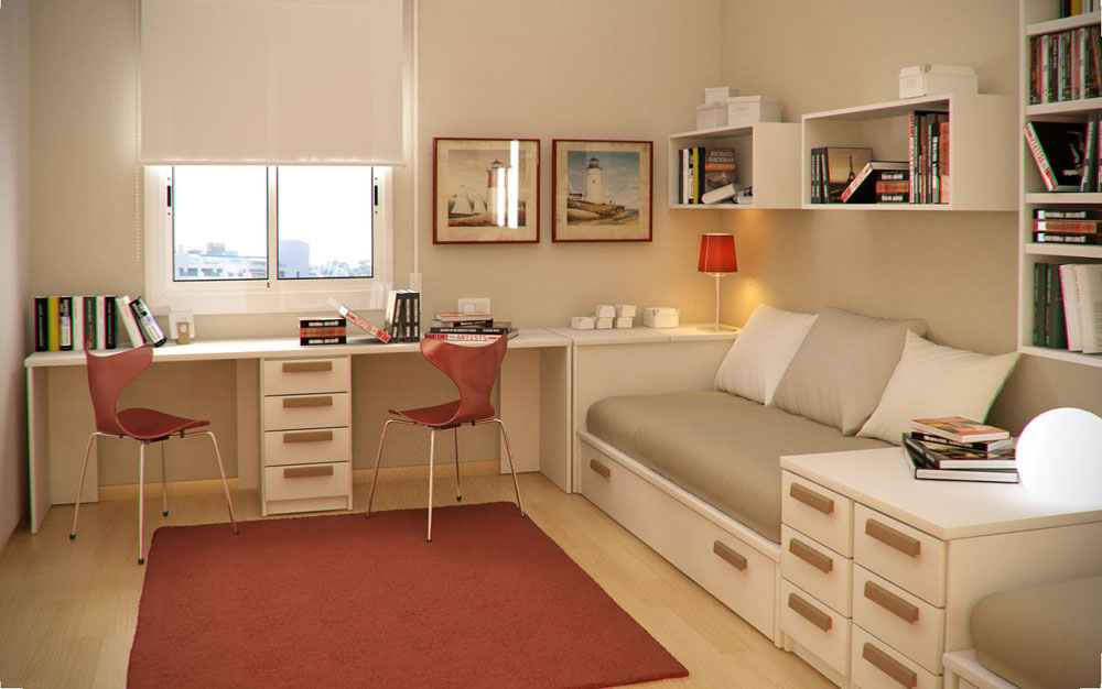 Latest Room Design Part - 21: Study-Room-Design-Ideas-For-Kids-And-Teenagers-