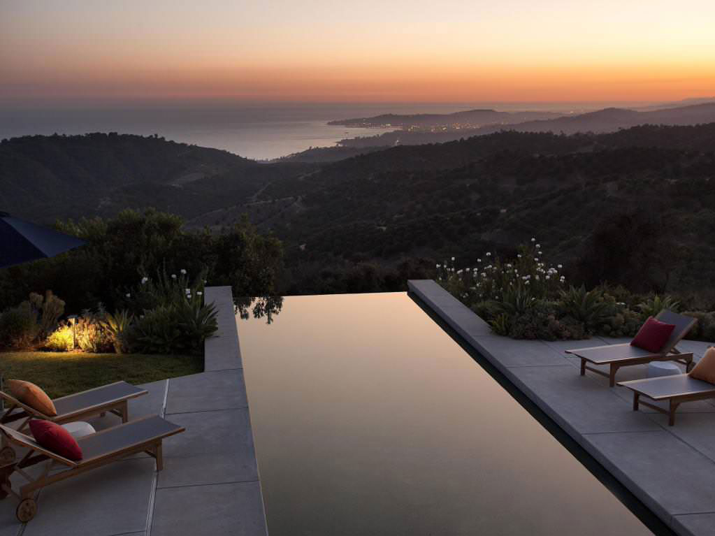 California House With A Beautiful View