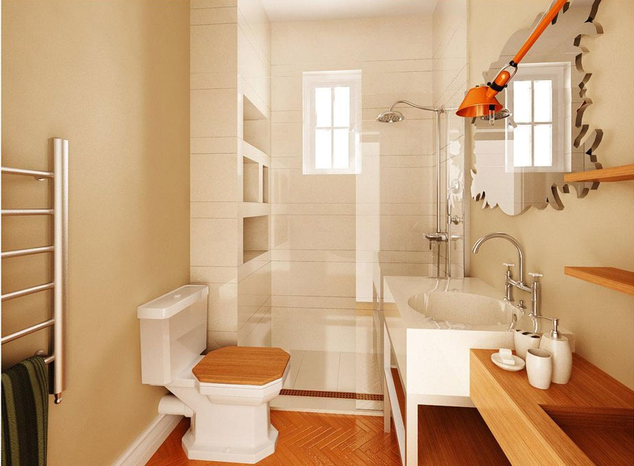 How To Decorate A Small Bathroom And Yet Save Space 1