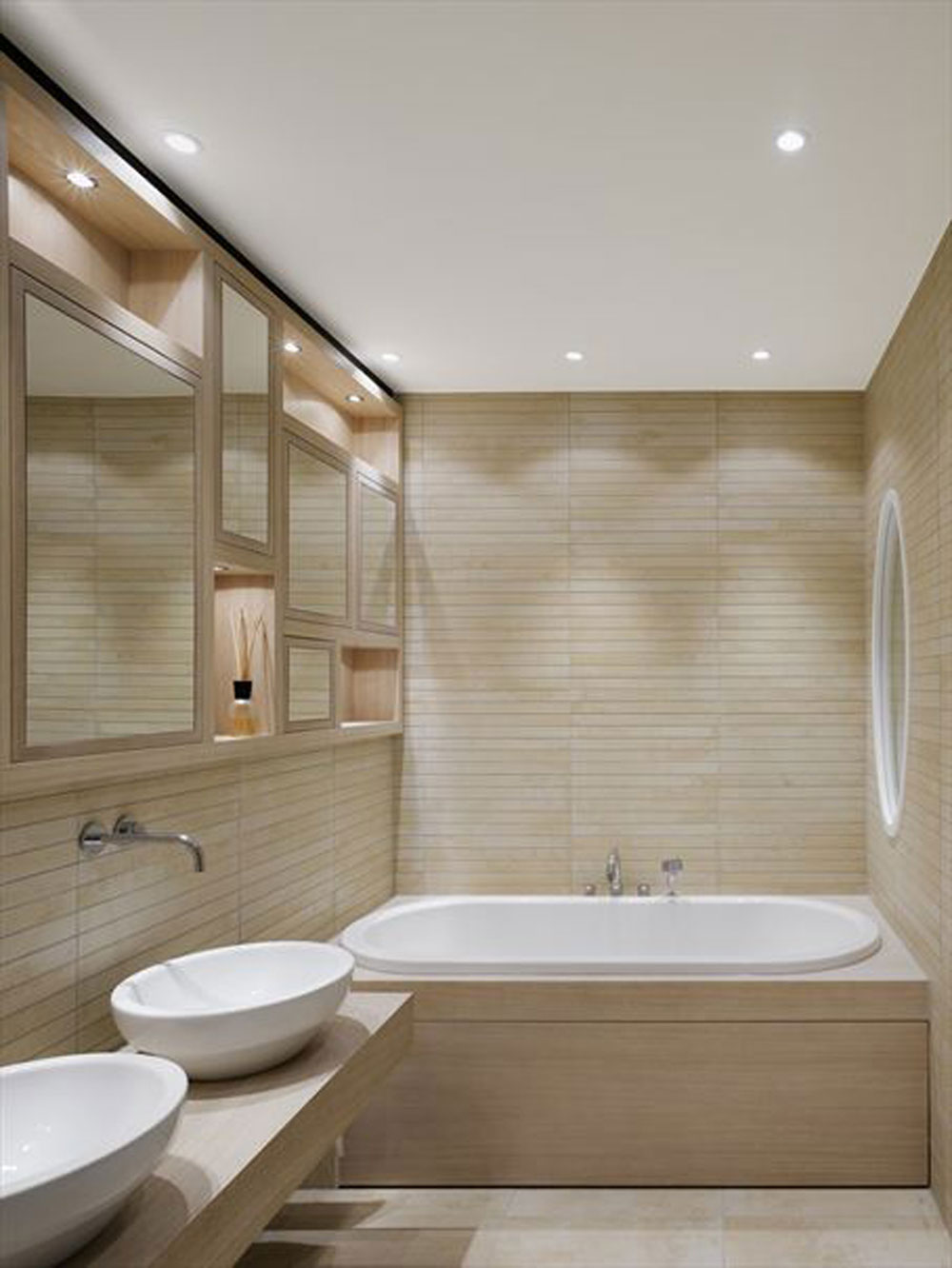 Luxury Small Bathrooms how to decorate a small bathroom and yet save space