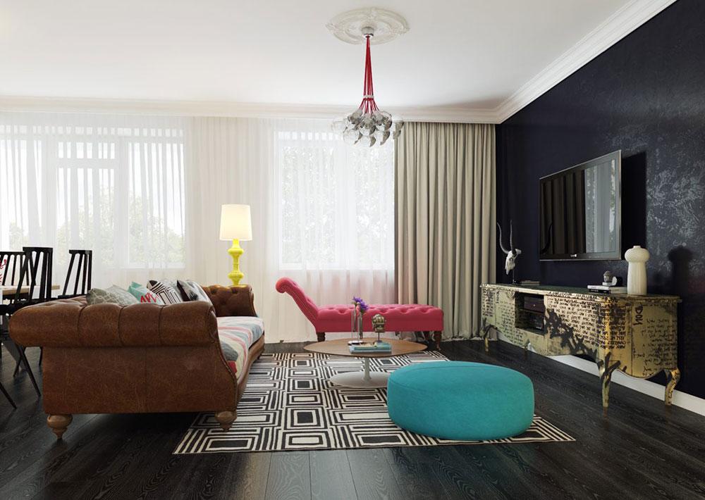 green living room ideas 2015 modern interior design ideas for apartments - Dark Wood Living Room 2015