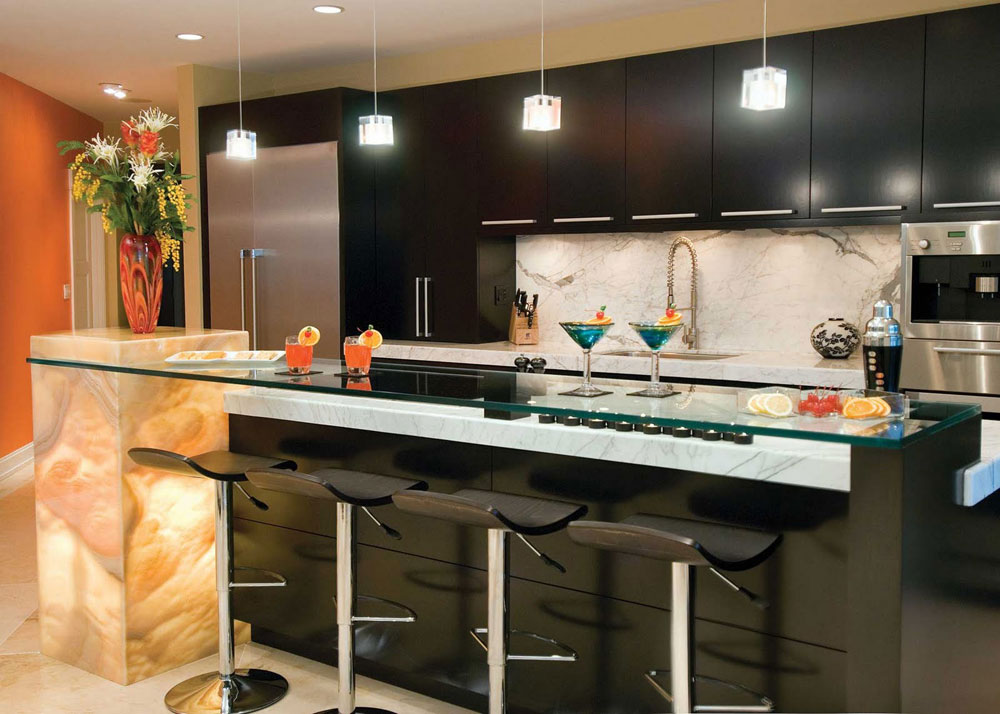 Tips And Guidelines For Decorating Above Kitchen Cabinets