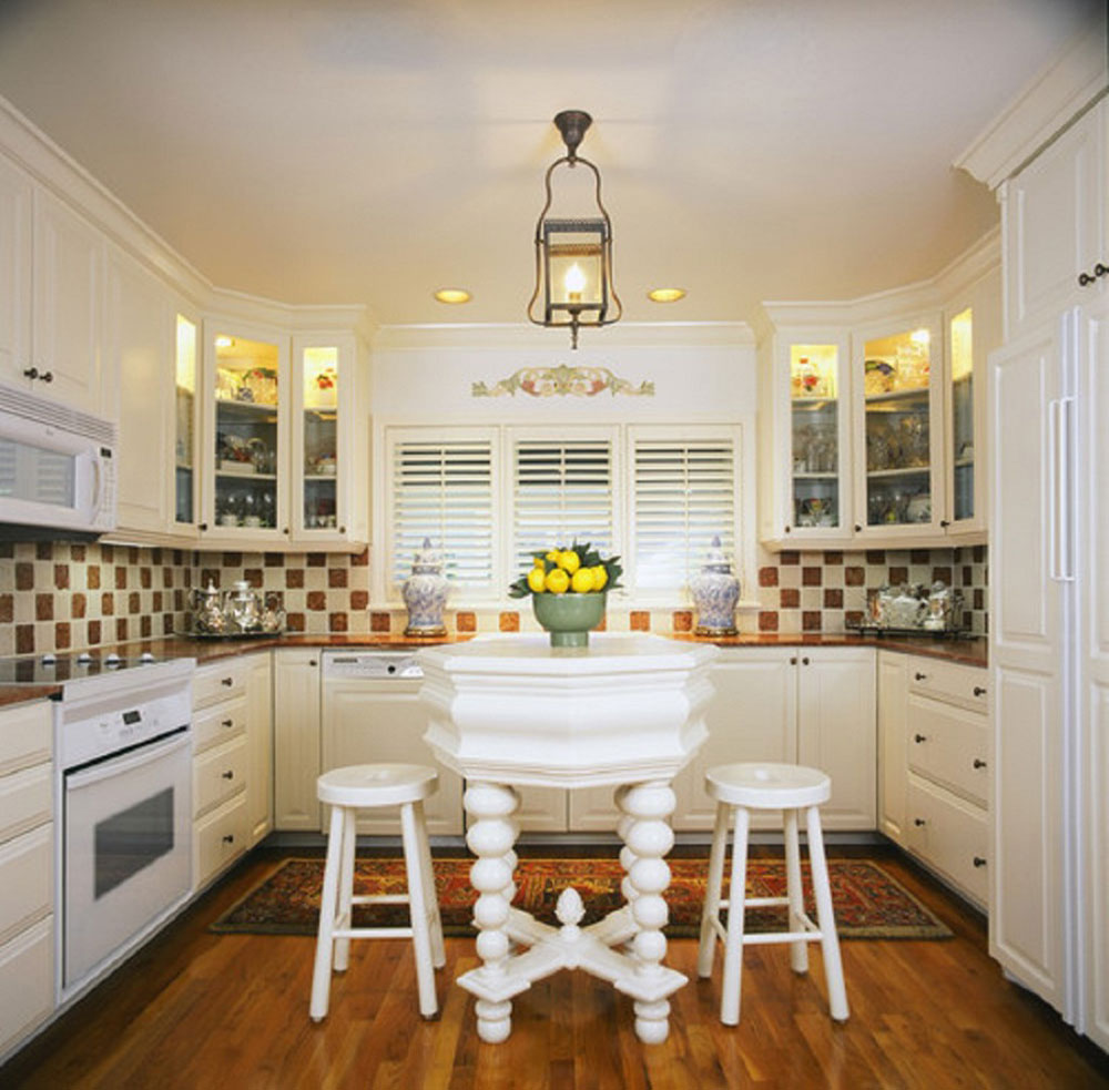 Furniture For Small Kitchen Tips And Ideas For Redesigning A Small Kitchen