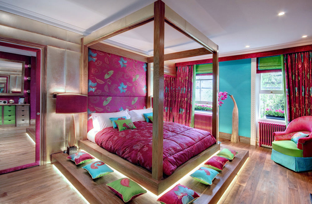 Colorful Bedroom enjoy your life with this colorful bedrooms
