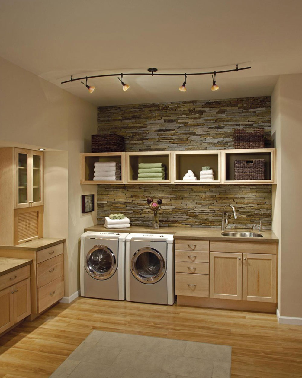 Laundry Room Ideas For A Clean House - Clean washing machine ideas