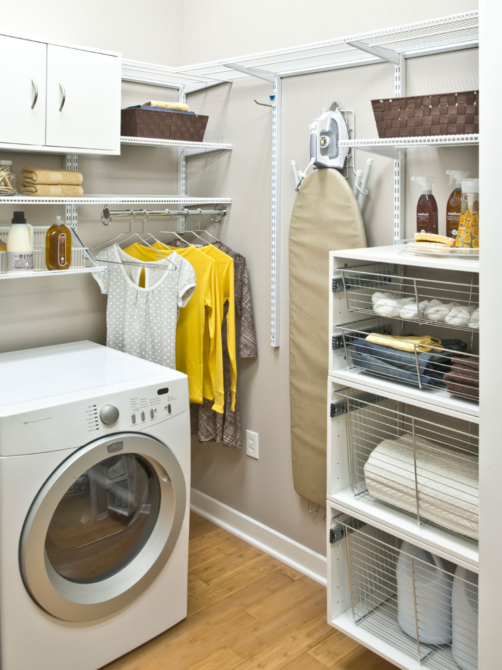 Very Small Laundry Room Small Laundry Room Ideas For Hanging Clothes