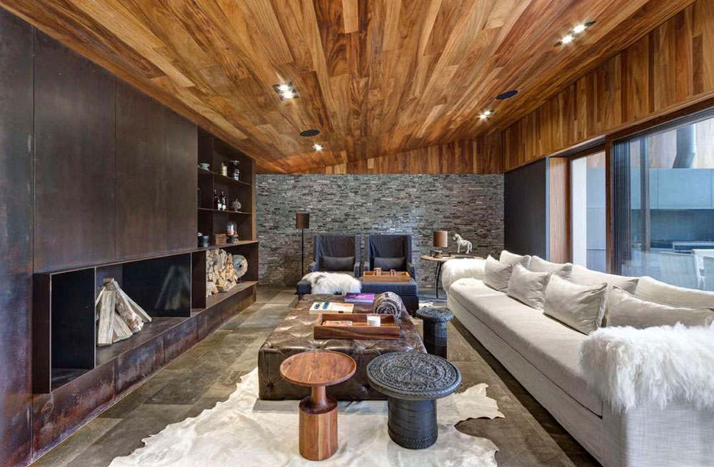 Interior design wood  Wooden Interior Decoration Home Design Ideas
