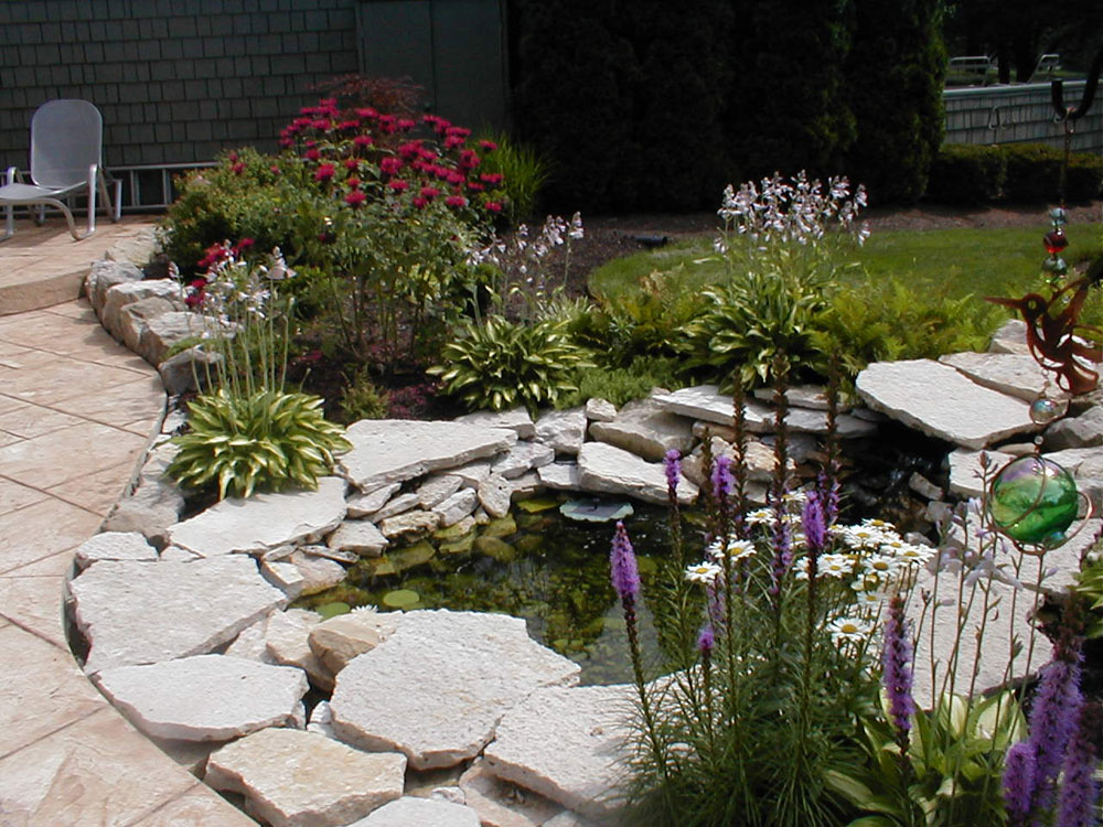 create a unique backyard with these garden pond design ideas 8 - Garden Ponds Design Ideas