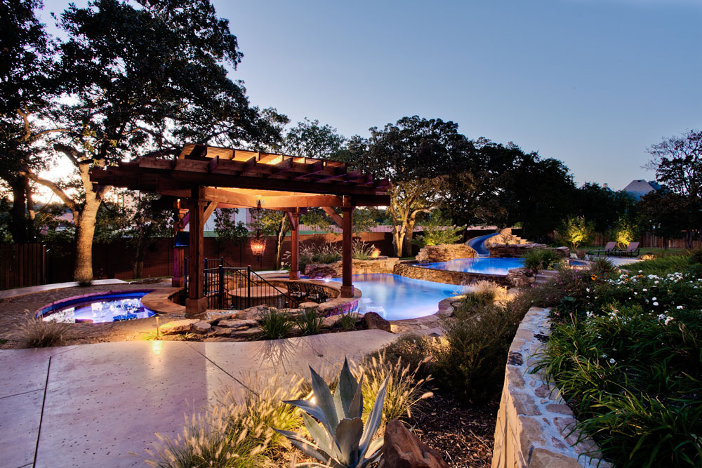 Outside Swimming Pool Design And Landscaping Ideas 7 Outside