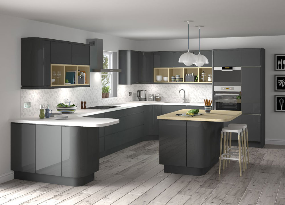 stylish grey kitchen inspiration for exquisite homes 11 stylish - Kitchen Inspiration Ideas