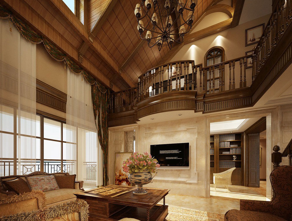 wooden ceiling design ideas 9 - Ceiling Design Ideas