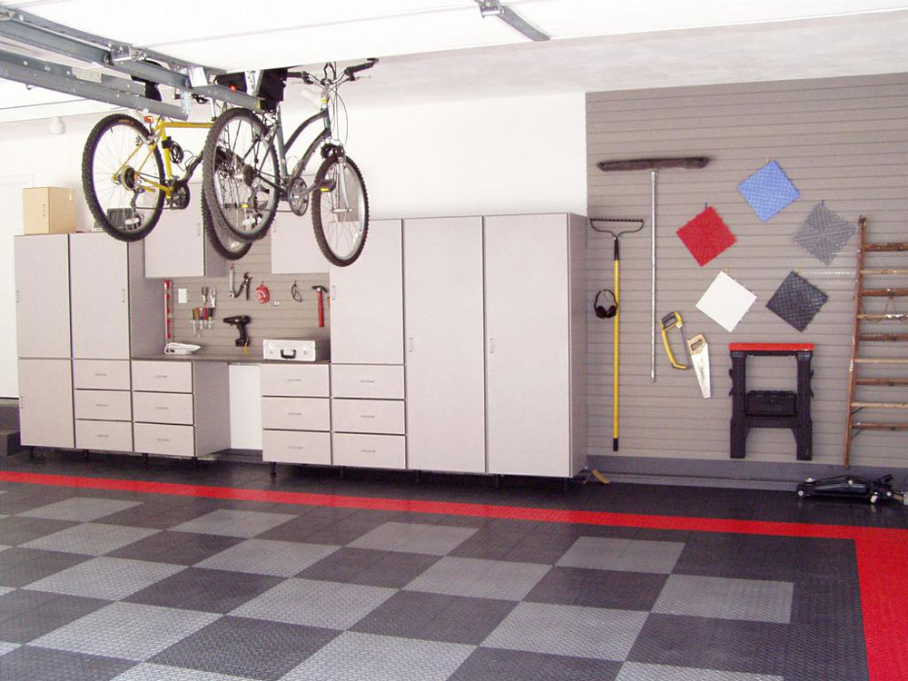Garage interior design ideas to inspire you for Car garage interior design