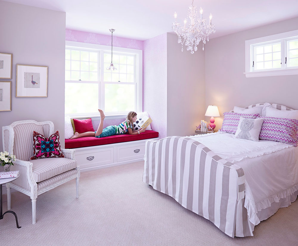 Bedroom-Interior-Design-Tips-For-Young-Girls-2 Bedroom