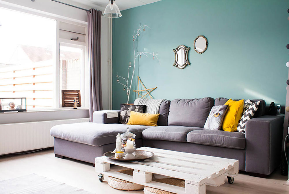 Decorating And Adding Color To Rooms With White Walls