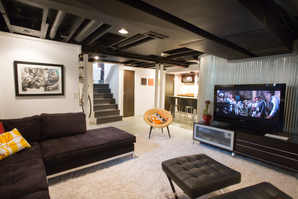 How To Handle Low Ceiling Interior Design Amazing Low Ceiling Basement Ideas