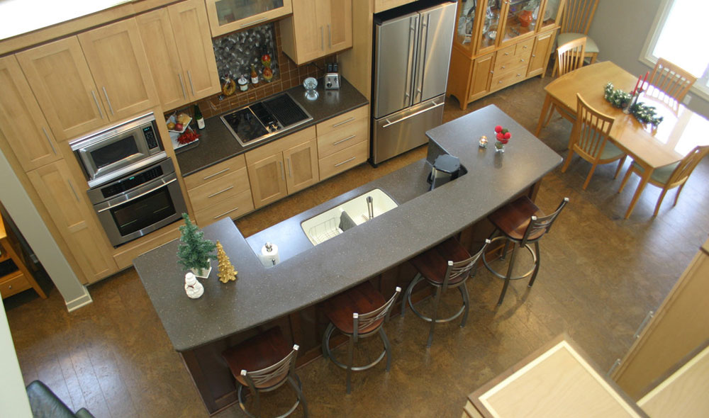 modern kitchen flooring options - pros and cons