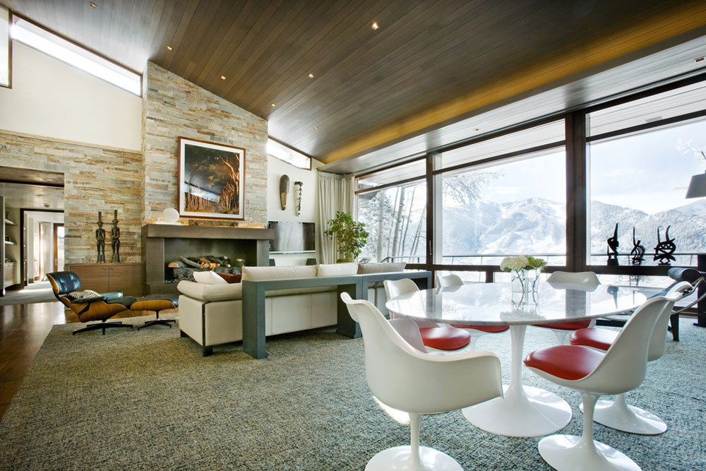 Slanted Ceiling Home Design And Decorating Ideas