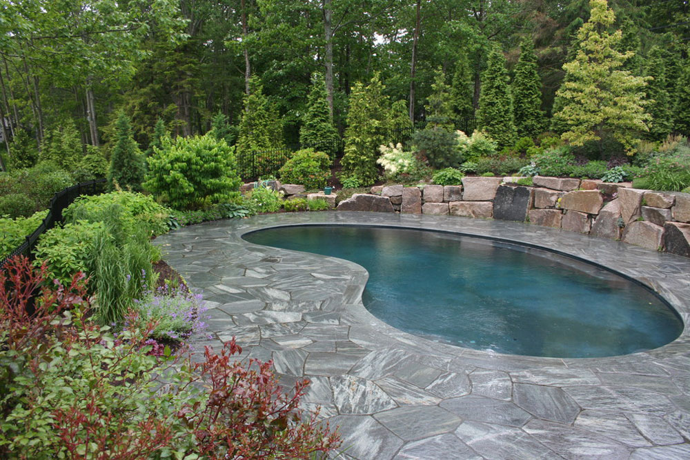 swimming pool design ideas and pool landscaping 8 outdoor - Garden Ideas Around Swimming Pools