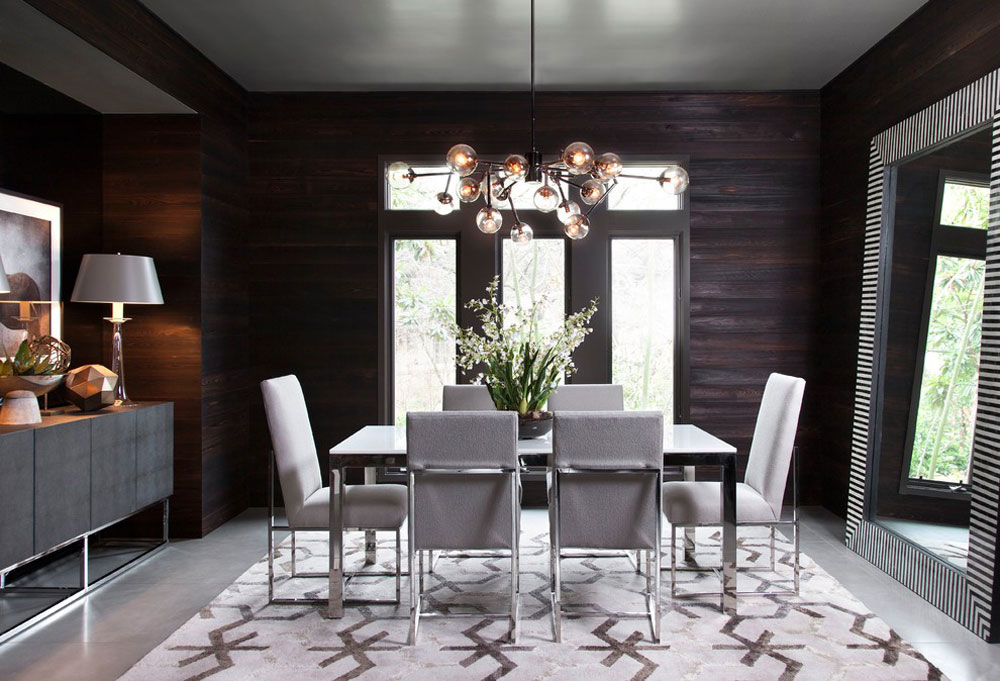 Contemporary Dining Room1 And Modern Interior Design Characteristics