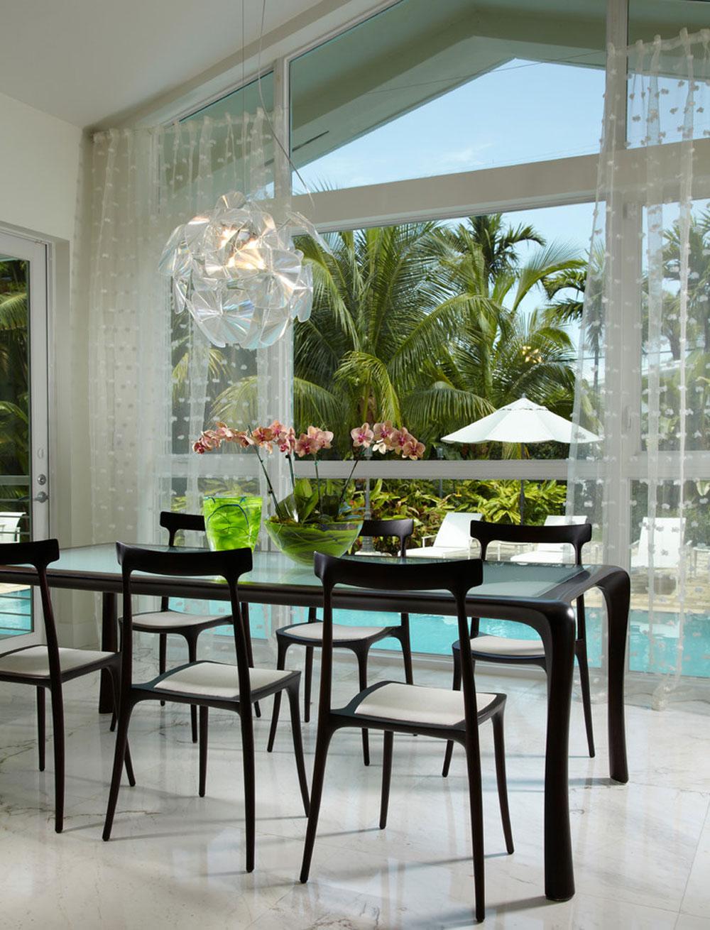 Contemporary dining room4 contemporary and modern interior design characteristics