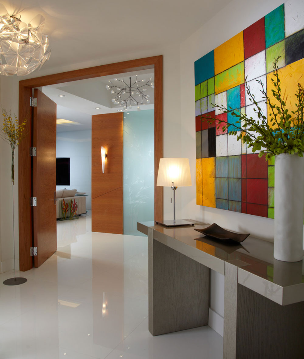 Contemporary entry1 contemporary and modern interior design characteristics