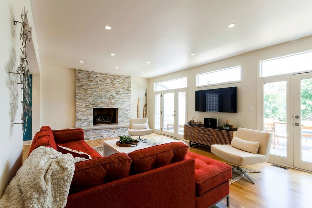 Modern Living Room2 Contemporary And Modern Interior Design Characteristics