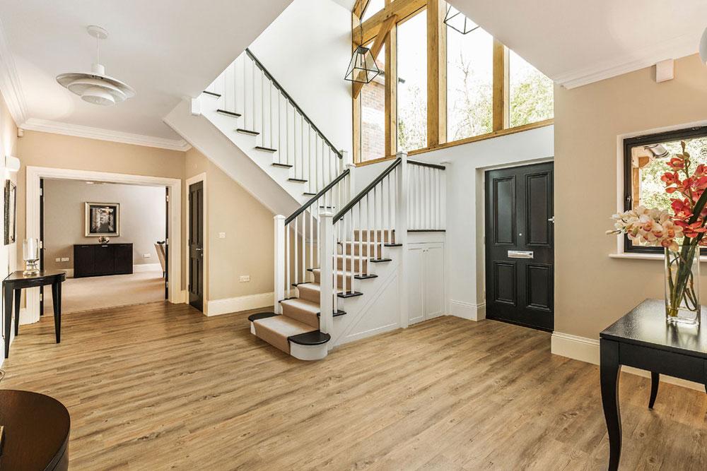 Interior design for entrance hall