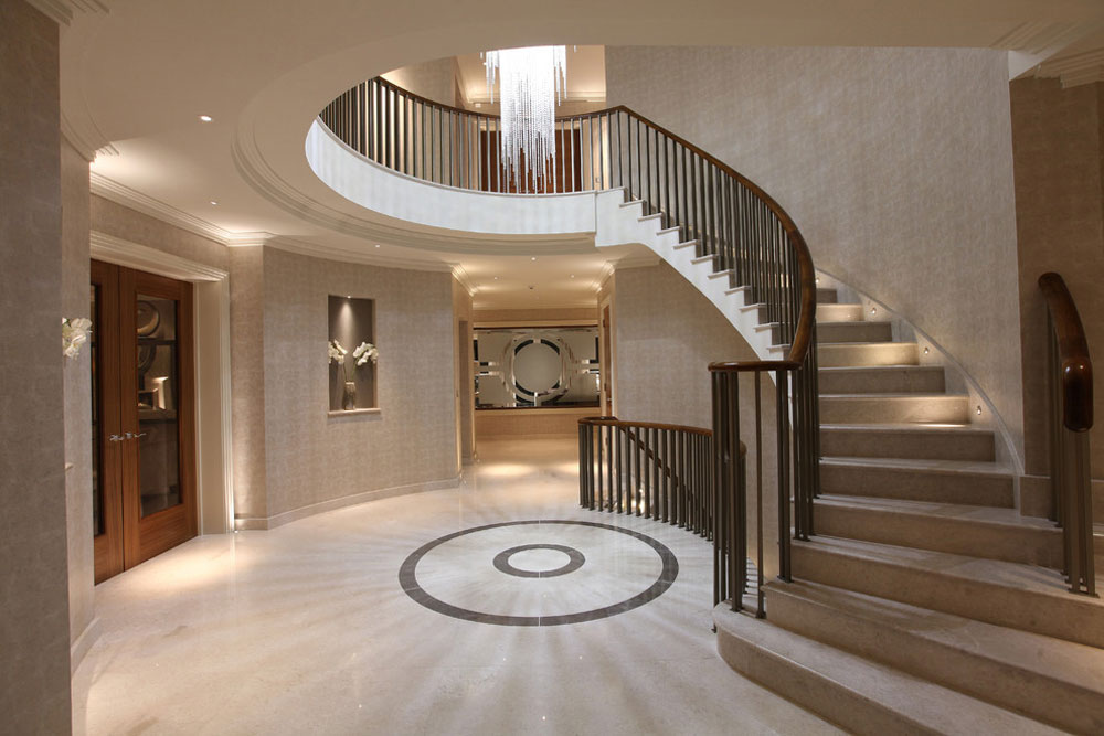 Creating The Interior Design For Entrance Hall