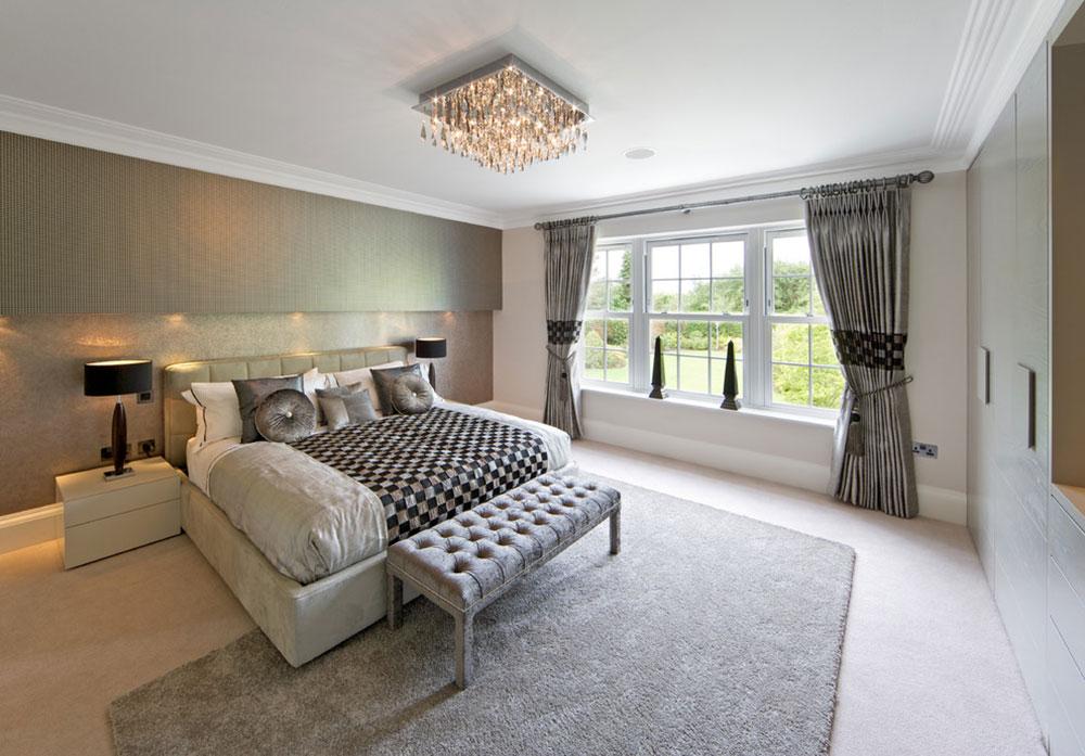 ... Bedroom Rug On Carpet