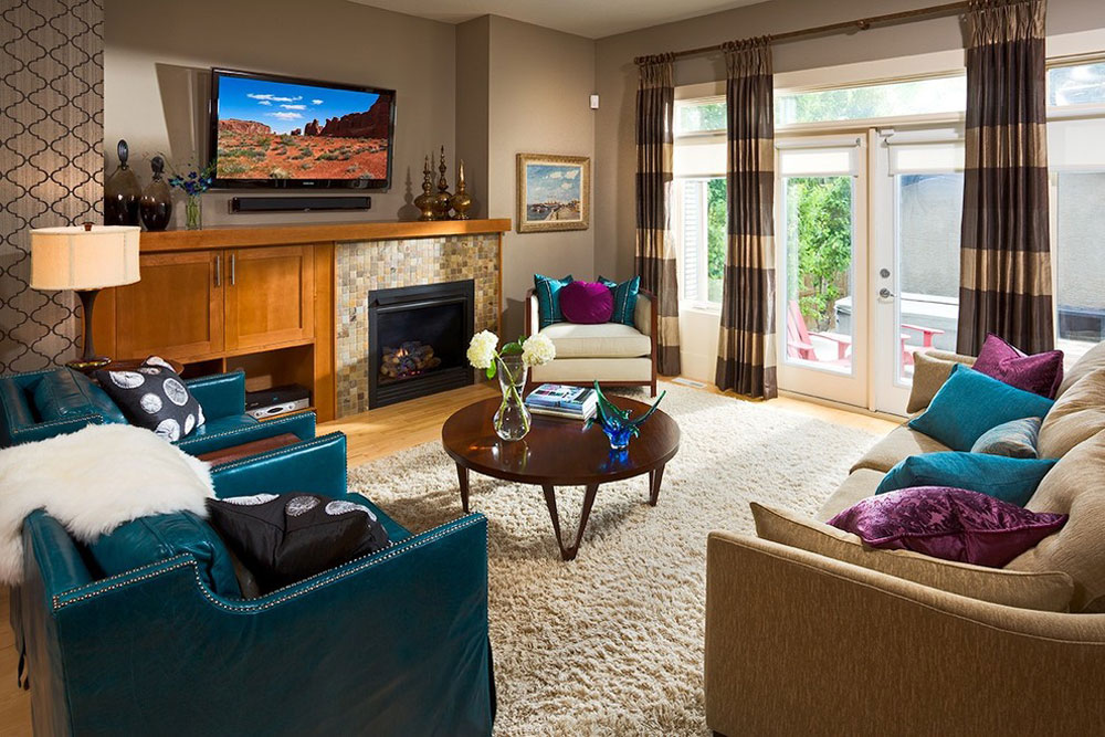 Magnificent Living Room Den Decorating Ideas Rize Studios Largest Home Design Picture Inspirations Pitcheantrous