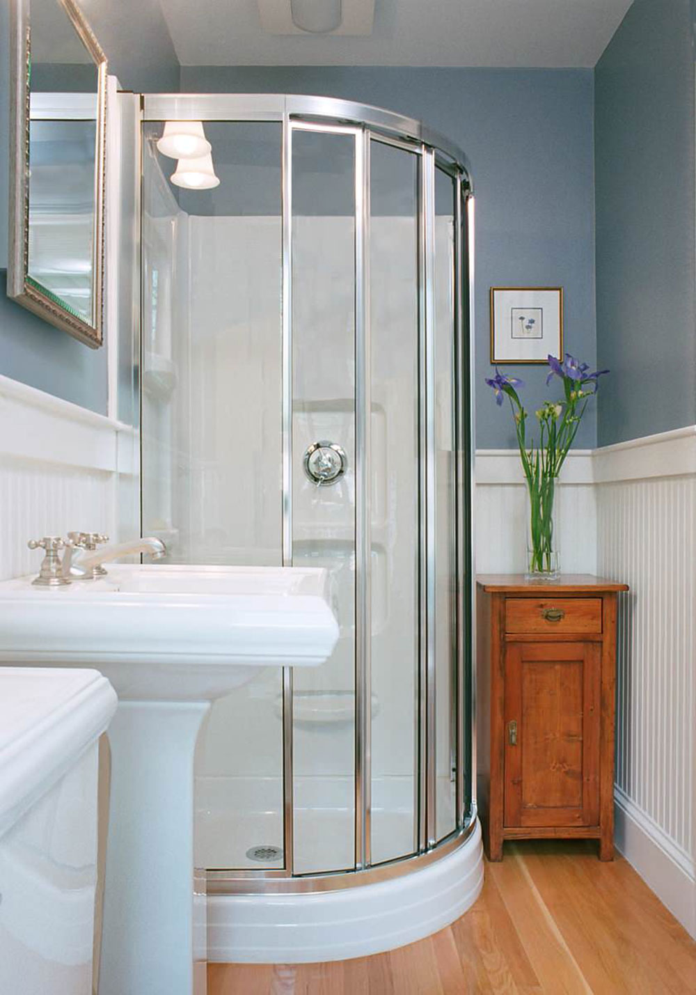 Creative Small Bathrooms how to make a small bathroom look bigger - tips and ideas