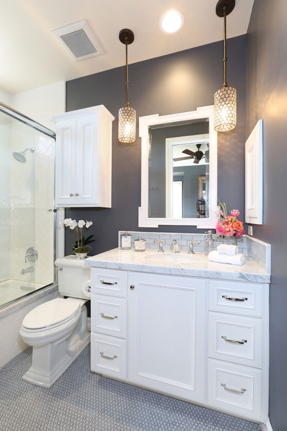 how to make a small bathroom look bigger8 how - Small Bathroom Inspiration