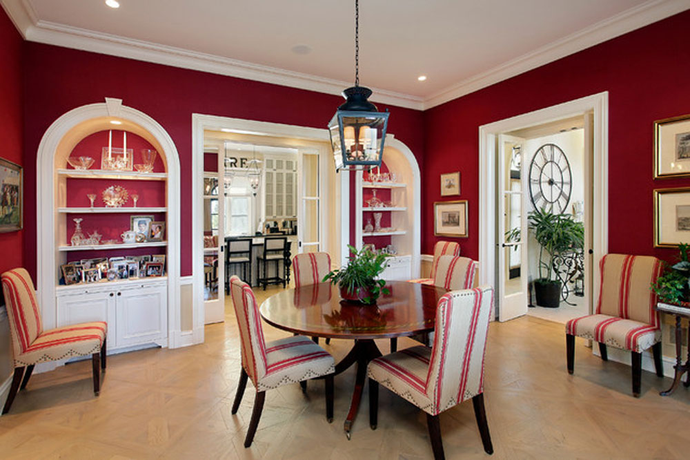 Beau Meaning Of Red Color In Interior Design And