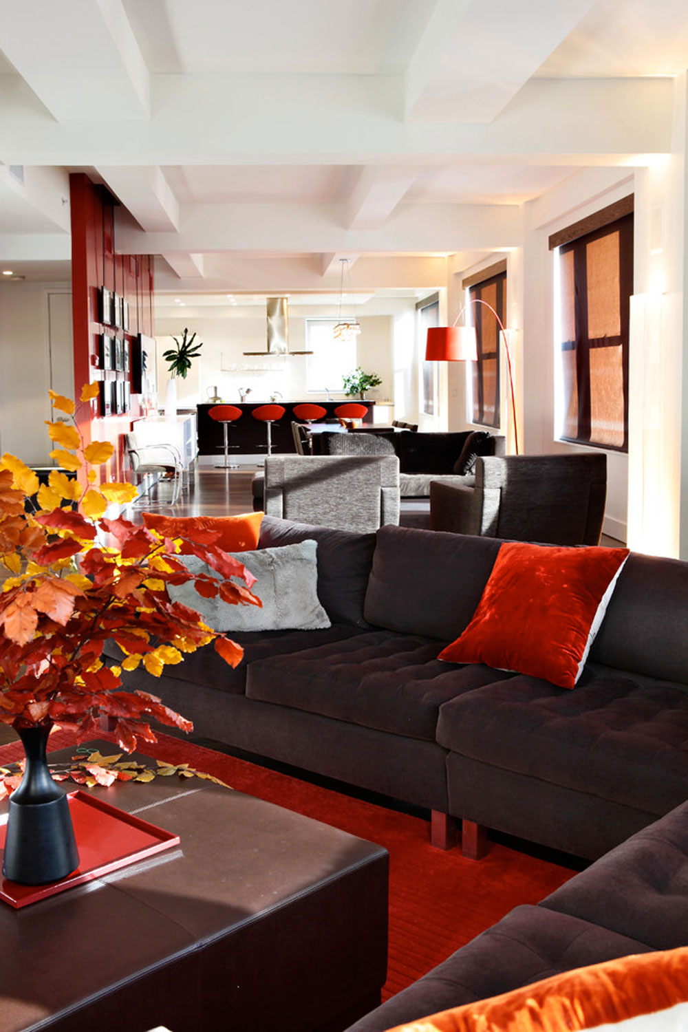 decorating with red furniture. Meaning-Of-Red-Color-In-Interior-Design-And- Decorating With Red Furniture