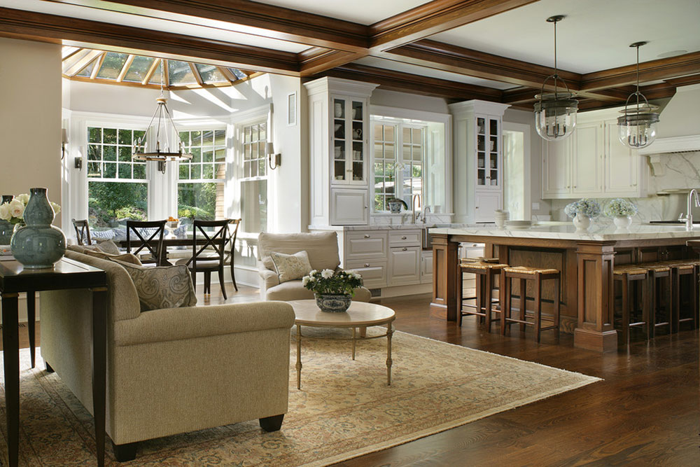 Open Kitchen And Living Room Design Ideas12 Open Kitchen And